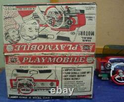 Playmobile Topper Toys Deluxe Reading Corp. Boxed Toy Car Automobile Dashboard