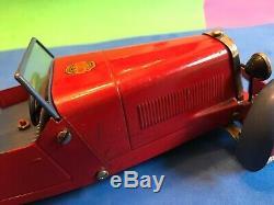 Pre War Meccano No 1 Constructor Car Clockwork Fully Working