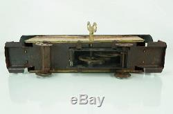 Rare 1920s Converse Tin Wind Up Trolley Street Car Toy Very Rare Litho Toy