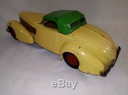 RARE 1938 Wyandotte No. 600 COFFIN NOSE CORD SPORTSMAN CAR VERY NICE ORIGINAL