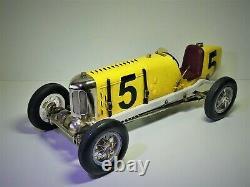 RARE # Gilbow Miller INDY 500 Race Car RN5, clockwork 18 Scale