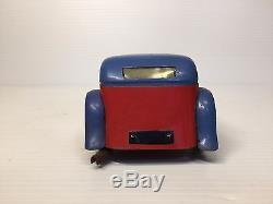 Rare Vintage Meccano France 9 Mg Coupe Roadster Clockwork Non-constructor Car