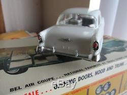 RARE vintage 1963 Revell 1/24 scale 56 Chevy AMT chassis slot car
