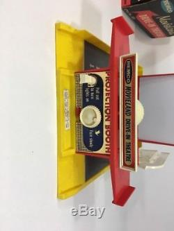 REMCO Movieland Drive In Theater 1959 Original Box With Tin Cars Film Strips READ