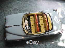 Rare 1950 Cadillac Convertible BIG Japan Tin Car Nomura TN Tinplate battery toy