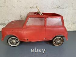 Rare 1960s Mini Pedal Car