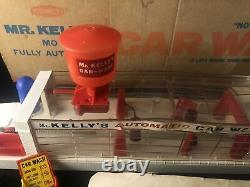 Rare 1960s Remco Mr. Kelly's Motorized Fully Automatic Car Wash Playset