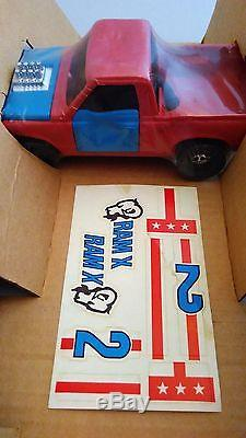 Rare 1972 NEW BOXED UK Vintage Stock Car Smash Up Derby By PALITOY Kenner SSP