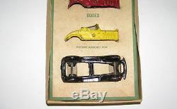 Rare A. C. Williams Cast Iron # 612 R Car Set with BOX NO RESERVE (DAKOTApaul)