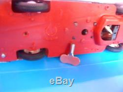 Rare And Vintage Model Blue Batmobile Car Batman Toy Rope