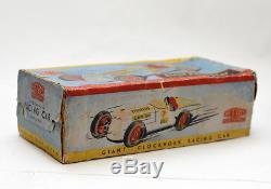 Rare Giant Racing Car in original box // Mettoy Great Britain