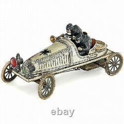 Rare Gunthermann Clockwork Gordon Bennet Racing Car Original Complete Working