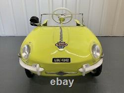 Rare Jaguar E Type Pedal Car Not J40