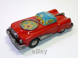Rare Kanto Toys # 1950's Tin SPACE GYRO CAR , friction