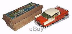 Rare Large Boxed 15 1/2 Yonezawa New Ford Car WORLDWIDE SHIPPING