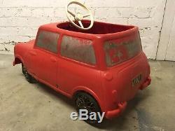 Rare Mini Cooper Pedal Car