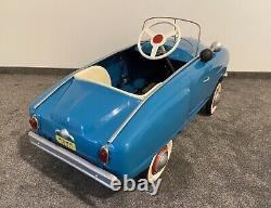 Rare Old Vintage Original Pedal Moskvich Pedal car, Studebaker