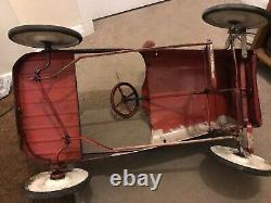 Rare Original Vintage 1950s Triang Comet Pedal Car