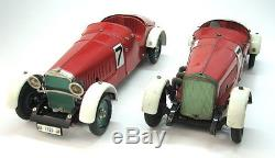 Rare Pair Vintage Marklin 1101 Mercedes Ssk + Limited 1103 Racing Cars Germany