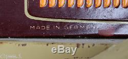 Rare Tippco German Tin Windup Wind Up Clockwork Car Limousine Pre War 53cm