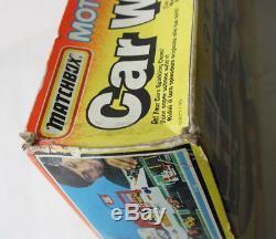 Rare Vintage 1993 Matchbox Motorcity Car Wash Playset New Sealed