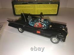 Rare Vintage Batman Batmobile Car Corgi Toys #267 Mettoy 1973 Window Box