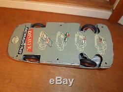 Rare Vintage Distler Car Porsche Electro Matic 7500 Western German Battery Metal