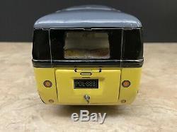 Rare Vintage Lemy Poliumex Combi VW Samba Bus Tin Toy Volkswagen Car Tippco