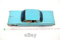 Rare Vintage Nomura New 1961 Buick Le Sabre Sedan 16 Tin Car with Original Box