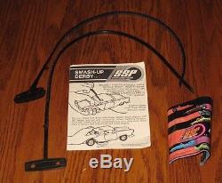 Rare Vintage Smash Up Derby cars Kenner SSP 1971 1st Edition & box 100% Complete