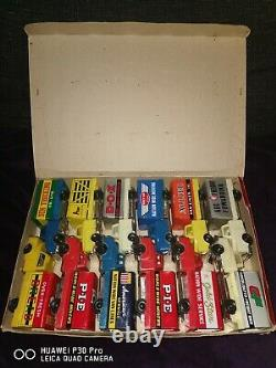Rare Vintage Tin Plate Friction Trucks in shop display box Made In Japan 60s/70s