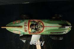 Rare Yonezawa Japanese 153 Atom Racer 15 Car Friction Toy Race Car