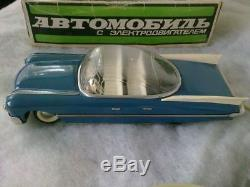 Rare vintage Soviet USSR toy metall car Cadillac Eldorado 1959 USA Limousine box