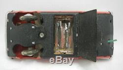 Red China ELECTRIC OPEN CAR ME 049 battery operated with original box vintage