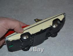 Red China ELECTRIC OPEN CAR Red China ME 049 Vintage Tin Toy Car