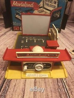 Remco Movieland Drive-in Theater Vintage 1959 In Original Box Cars Films #303