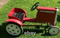 Retro Metal Pedal Tractor, a future classic triang car deere fordson major Lincs