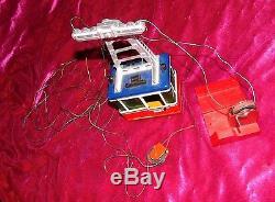 Rigi LGB Metal Cable Car Original Tin Ski Lift Western Germany G Scale Working