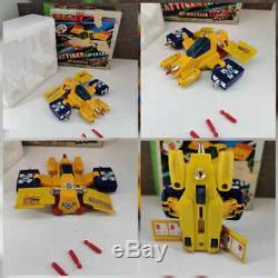 Robot Super Cars Gattiger Set DI 5 Auto Usato Vintage Toys