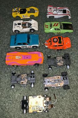SEARS Aurora AFX Road Racing Slot Car Set Electric HO Scale Vintage 1974