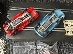 STROMBECKER 1/32nd Scale SLOT CAR RACE SET NOS Mint in Box-Vintage Toy 1960's