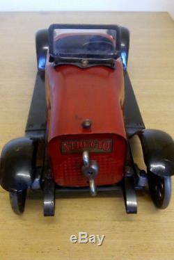STRUCTO TOYS STUTZ BEAR CAT Roadster constructor car 1919, pre Meccano