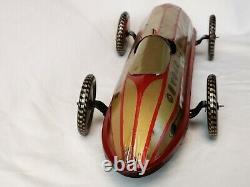 Saalheimer & Strauss Racing Car Rennwagen Tin Toy Blechspielzeug Wind-Up Rare