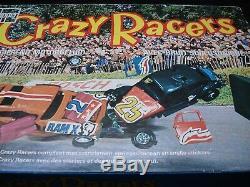 Stock Car Smash Up Crazy Racers 100% Crazy Crashers Boxed Stock Car