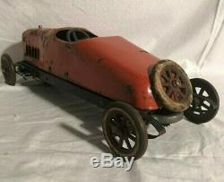Structo Toys Auto Builder Bearcat No 10 Roadster Wind Up Car 1920s
