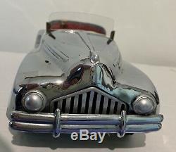 Super Sport INGAT SPYDER ALFA ROMEO AUSONIA Tin Clockwork Car Torino 1940s