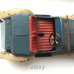 Superb Original Meccano Toys 2 Seater Sports Car Constructor Vintage Antique