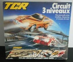 TCR circuit 3 niveaux slot car ho ancien vintage no scalextric tyco scx afx