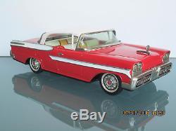 Tin 1958 Mercury Yonezawa Japan Friction Toy Car 11.5 No Reserve