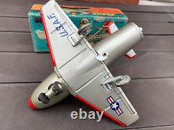 TN Toys Japan Mystery Plane In Its Original Box Near Mint Working & Rare